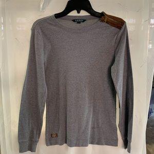 Lauren by Ralph Lauren grey sweater medium.